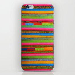 Colorful Funky Stripe iPhone Skin