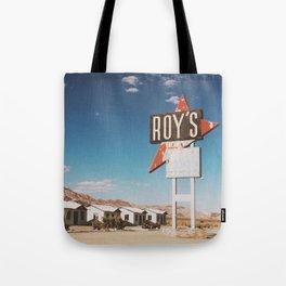 Roy's Retro Motel Tote Bag