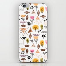 Mid-Century Awesome (Pink) iPhone & iPod Skin