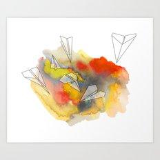 Sunplanes Art Print