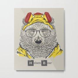 Heisenbear Metal Print