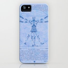 Proportions of Cyberman iPhone Case