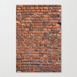 Texture - Brick wall Canvas Print