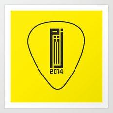 PJ 2014 GR // pick Art Print
