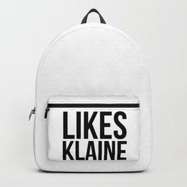 Likes Klaine Backpack