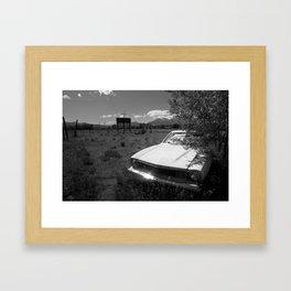 Backwater. Framed Art Print
