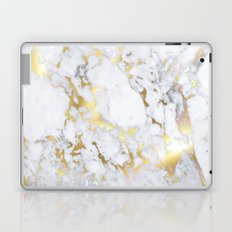 Original Gold Marble Laptop & iPad Skin