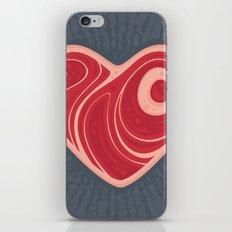 Meat Heart iPhone & iPod Skin
