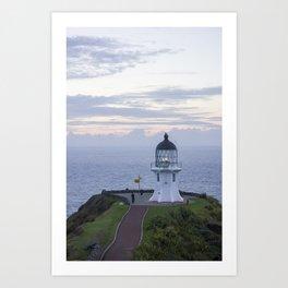 The Cape Reinga Lighthouse Art Print