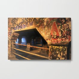Krog Street Tunnel Metal Print