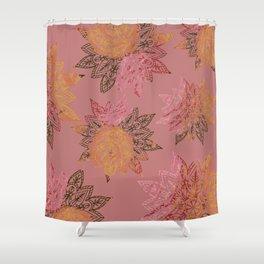 RAINBOW HENNA Shower Curtain