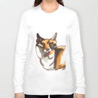 mr fox Long Sleeve T-shirts featuring Mr Fox by Ryan Hodge Illustration