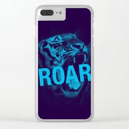 Roar Clear iPhone Case