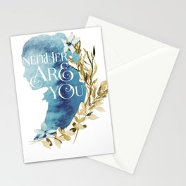 rey floral Stationery Cards
