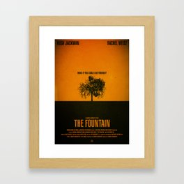 THE FOUNTAIN Framed Art Print
