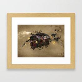 The Gypsy Wagon Framed Art Print