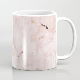 abstract-soft pink Coffee Mug