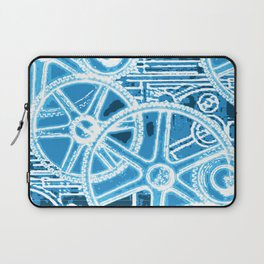 Geared Up ( Big Blue) Laptop Sleeve