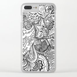 Cerca Trova Clear iPhone Case