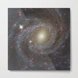 Spiral Galaxy NGC 3344 Metal Print
