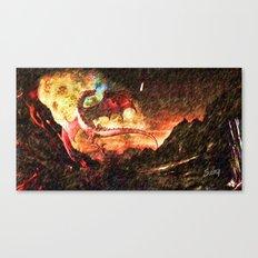 Dragon's fire Canvas Print