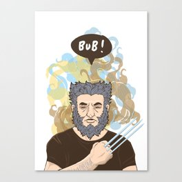 BUB! Wolverine / Logan Canvas Print