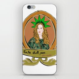 """Rebecca Mader """"bexmader"""" This too shall pass iPhone Skin"""