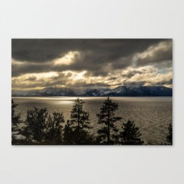 Lake Tahoe Winter Canvas Print