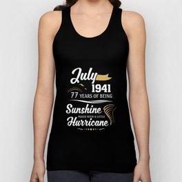 July 1941 Sunshine mixed Hurricane Unisex Tank Top