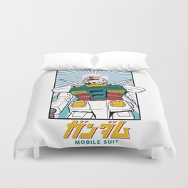 Mobile suit gundam Duvet Cover