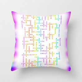 Steffie1-GOOD Throw Pillow