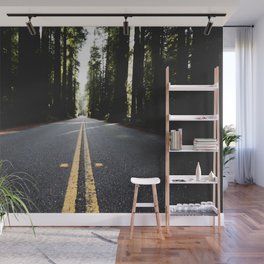 Into The Woods I Go - Nature Photography Wall Mural