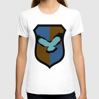 ravenclaw T-shirts featuring Ravenclaw Crest by Electric Unicorn