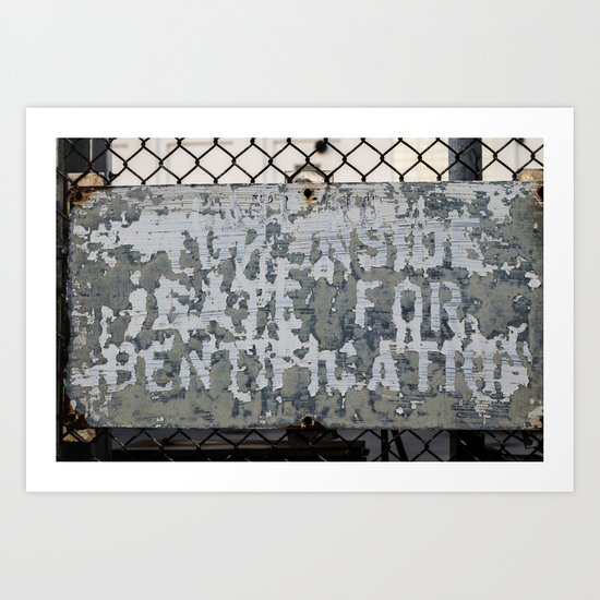 Gate No. 4 Art Print