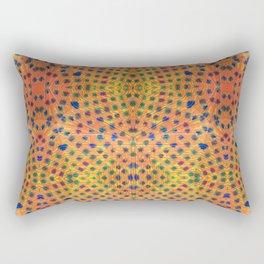Rainbow Leopard Rectangular Pillow
