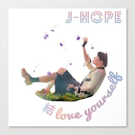 BTS Love Yourself Answer - JHope Canvas Print