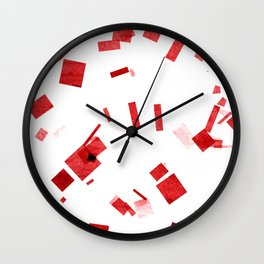 Composition #9 Wall Clock