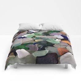 Sea Glass Assortment 6 Comforters