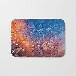 Vibrant Acrylic Texture Bath Mat