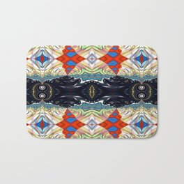 Vibrational Pattern 1 Bath Mat