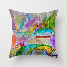Lily's Watercolor Throw Pillow