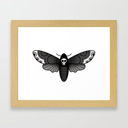 Death's-head Framed Art Print