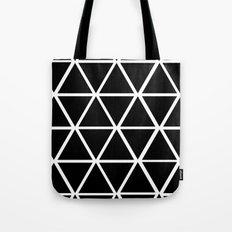 BLACK & WHITE TRIANGLES 2 Tote Bag