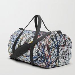 One of Pollock's eye Duffle Bag