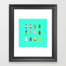Summertime Sucks Framed Art Print