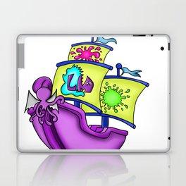 Little Monster Pirate Ship Laptop & iPad Skin