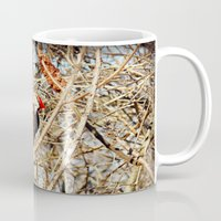 woody Mugs featuring Woody by DeLayne