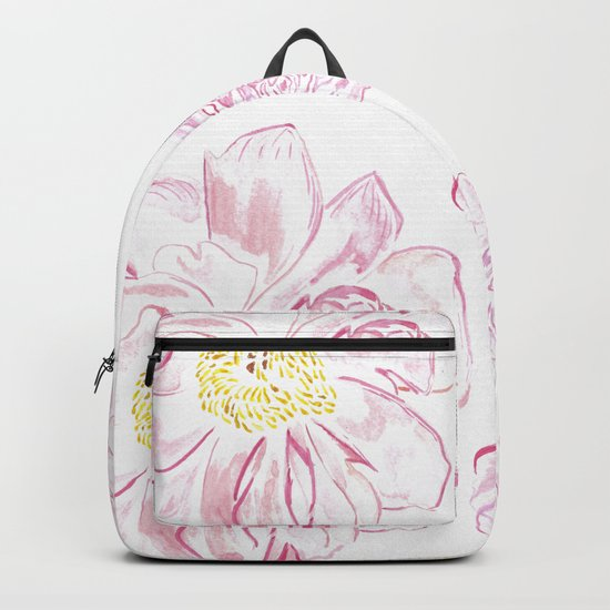 Abstract Flowers #society6 #buyart Backpack
