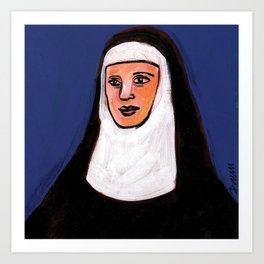 Nun Three Art Print