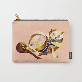Here Litte Kitty Carry-All Pouch